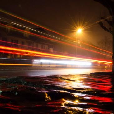 Nachtlichter in Thun